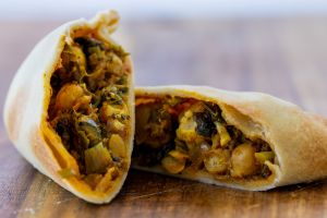 The Empanada Girl Curried Veggie Chickpea