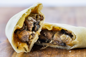 The Empanada Girl Mushroom and Caramelized Onions