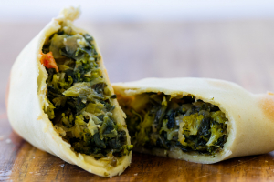 The Empanada Girl Spinach and Broccoli
